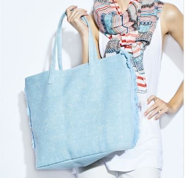 Distressed Tote Bags in 3 different colors to choose from