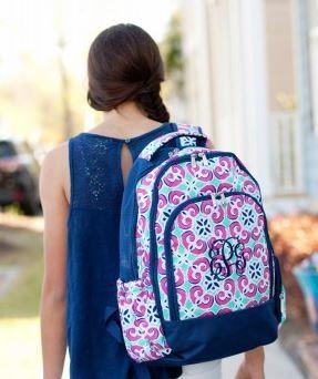 Personalized Confetti Dots Big Kid Backpack 5c28cf0298b20