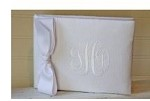 Custom Monogrammed Wedding Guest Book